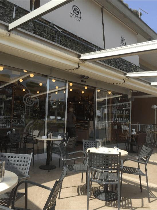 terrazza cafe des amis bar pasticceria gelateria fregene