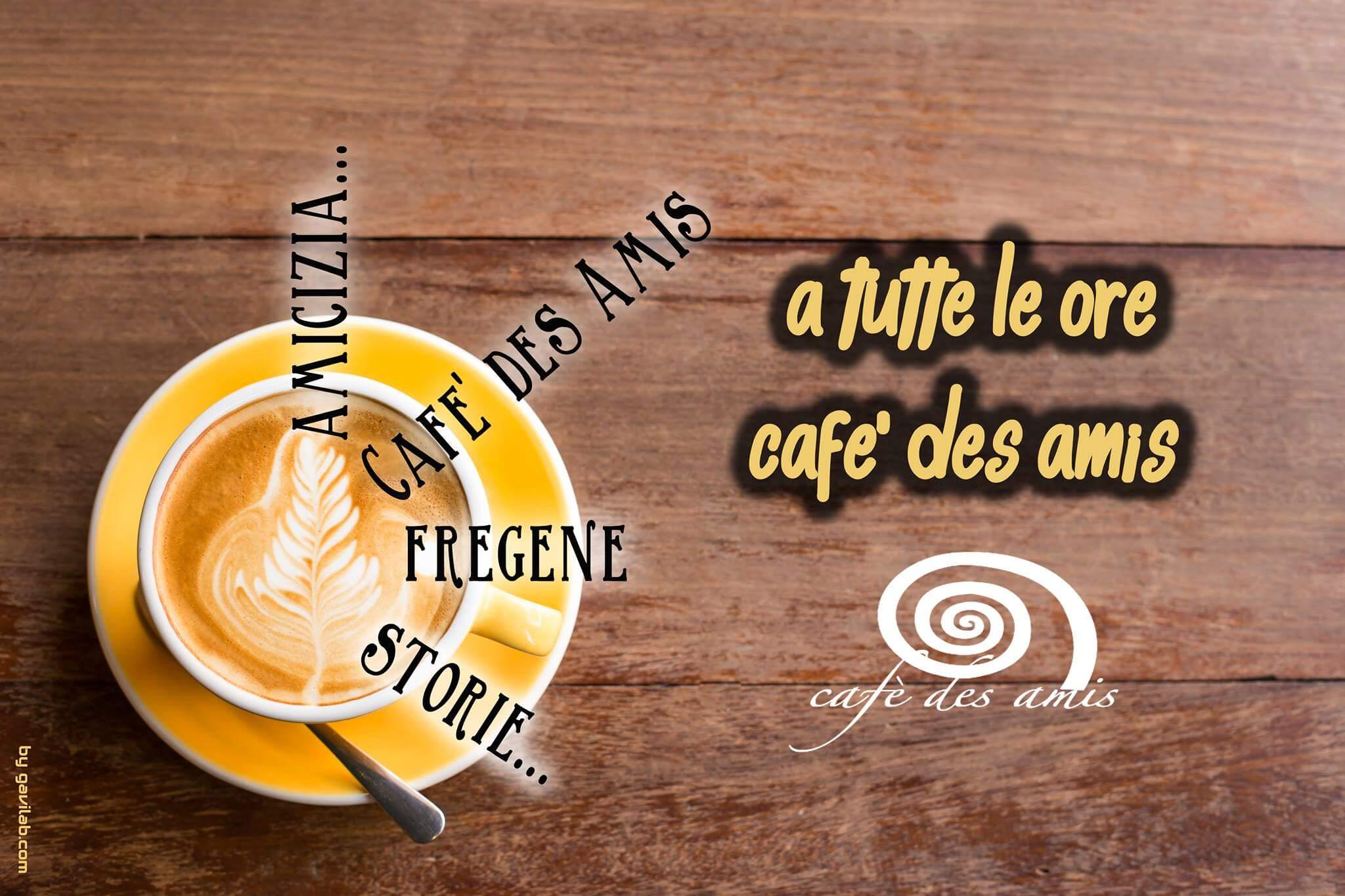 colazione cappuccino a fregene bar des amis