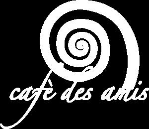 logo cafe des amis - bar pasteicceria gelateria a fregene